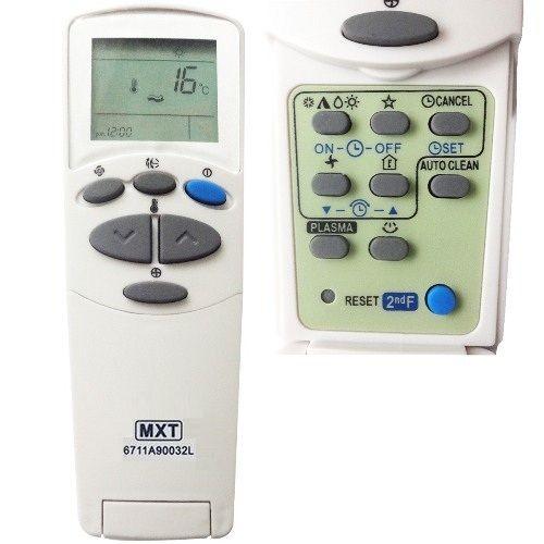 Controle Remoto Ar Condicionado Split LG MXT