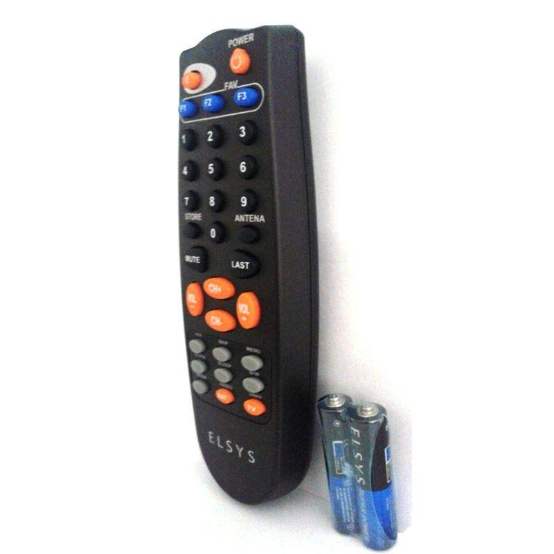 Controle Remoto Para Receptor Elsys 2.0 e Petit Original