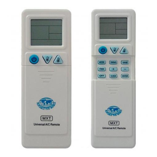 Controle Universal MXT p/ Ar Condicionado KT-1000
