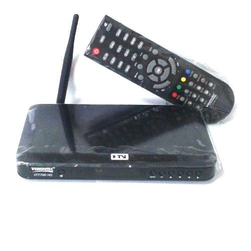 Conversor Digital Smart Web Full Hd Android Tv Vt7700 + Teclado