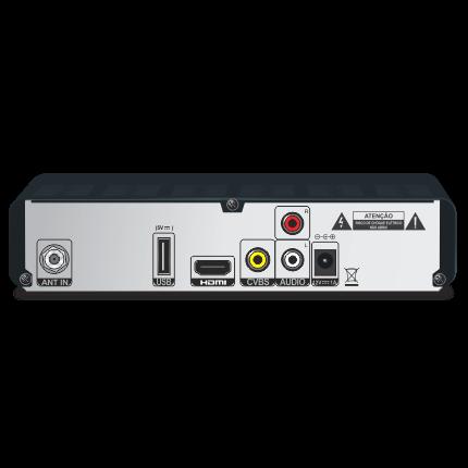 Conversor e Gravador Digital HD Terrestre Elsys ETRT12