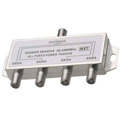 Divisor De Sinal 1x4 Frequência 50-2400Mhz