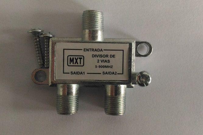 Divisor De Sinal 1x2 Baixa Frequência 5-900Mhz