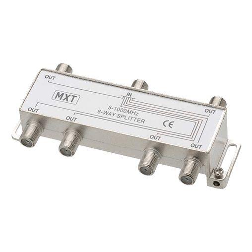 Divisor De Sinal 1x6 Baixa Frequência 5-1000Mhz Mxt