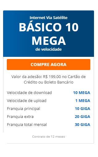 Internet Banda Larga Via Satélite HughesNet Wi-fi grátis Contrate Agora
