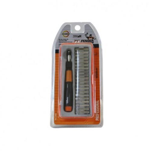 Kit Chave De Precisão Intercambiável 20Pçs - Fender Pro