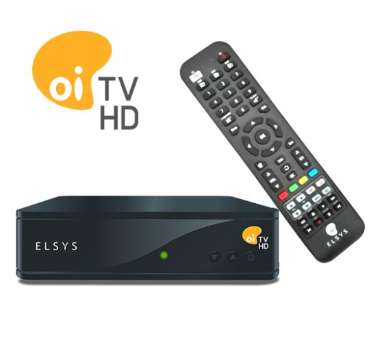 Kit OI TV Livre HD 60 1 Ponto Sem Mensalidades - Etrs44