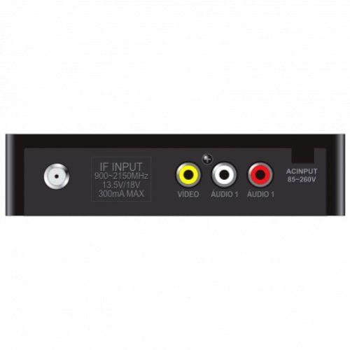 Kit Receptor Petit etrs39 + Antena Parabólica 1,70 Elsys Com Monoponto