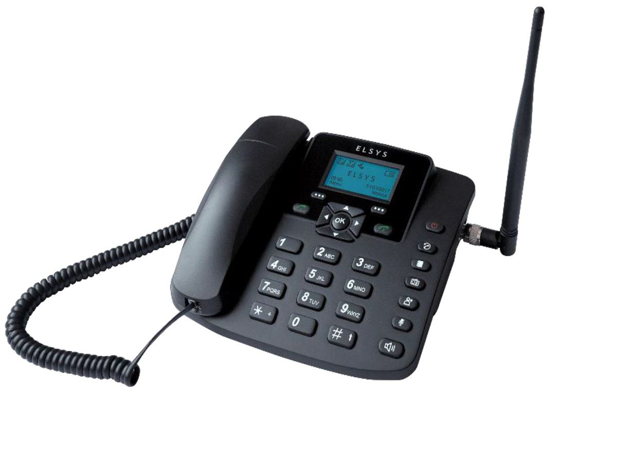 Kit Telefone Rural Com Antena Externa 15DBI EPKI11
