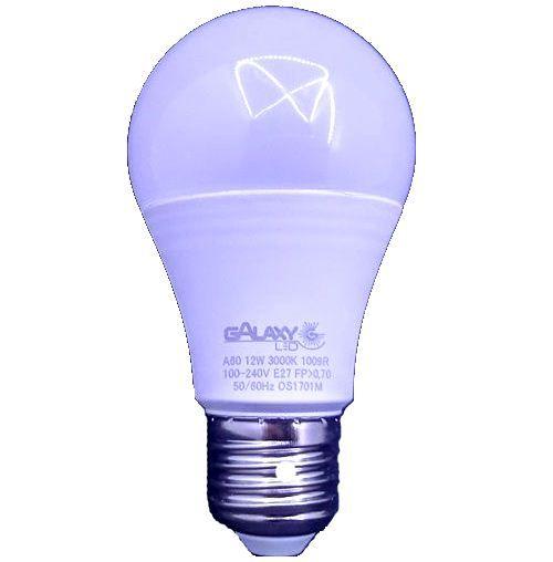 Lâmpada Bulbo LED da GalaxyLED