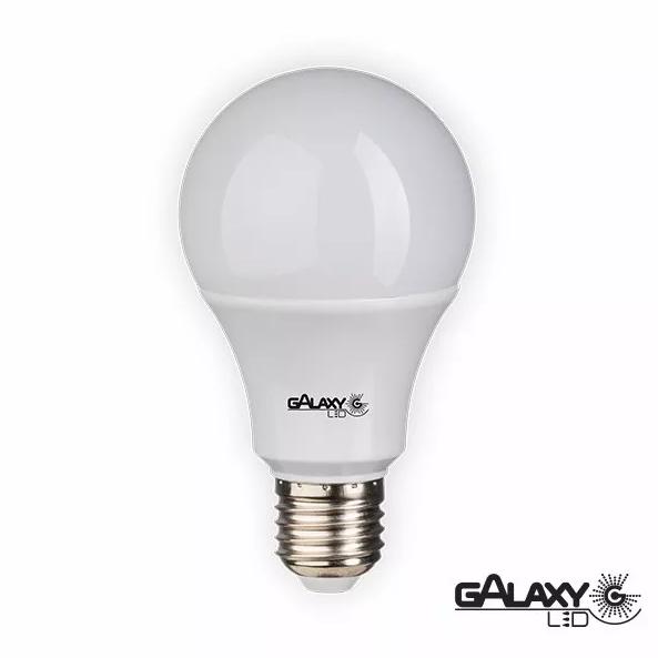 Lâmpada LED 7w 3000k luz quente GALAXY Led