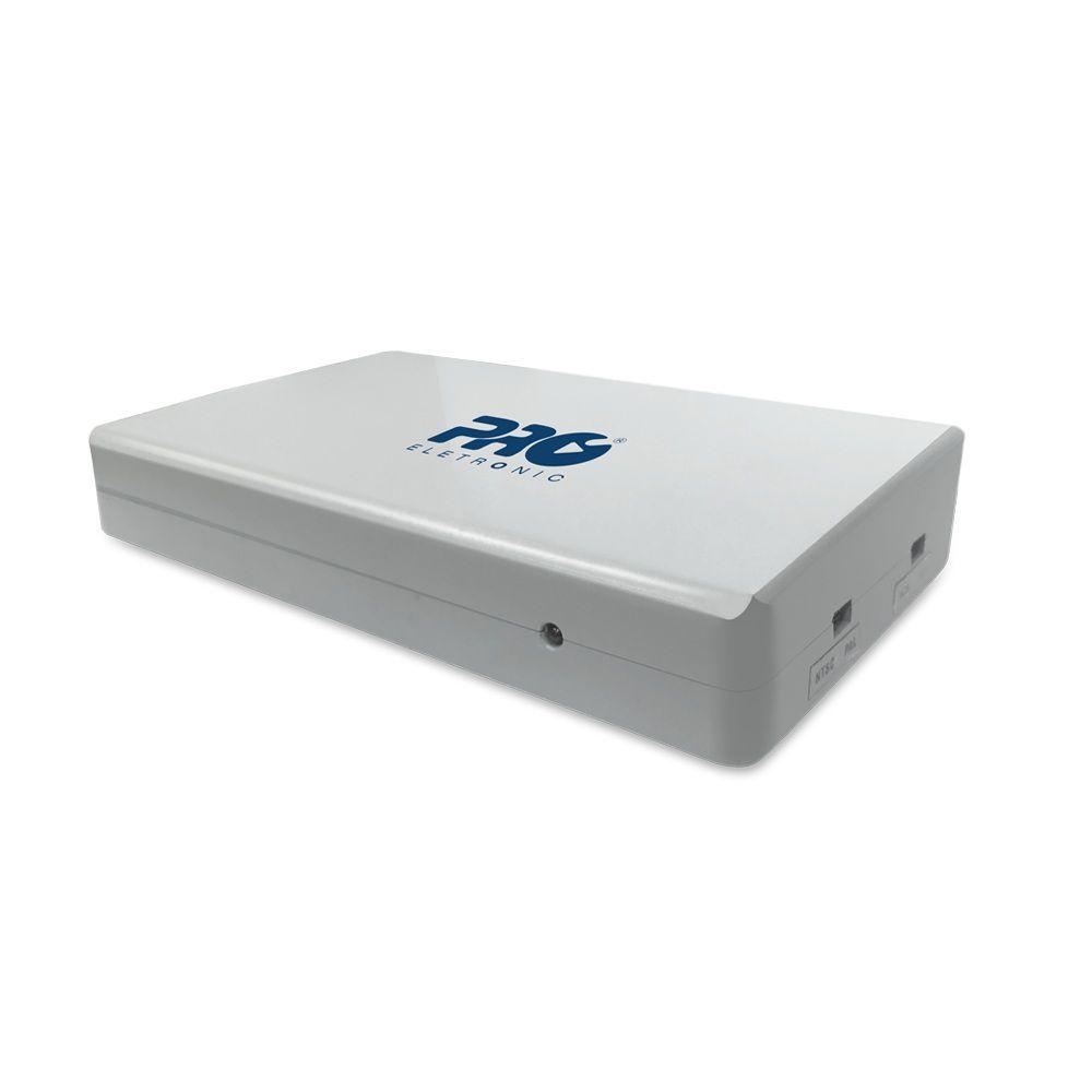 Modulador HDMI para canal 3 ou 4 de TV PQMO-2250 Proeletronic