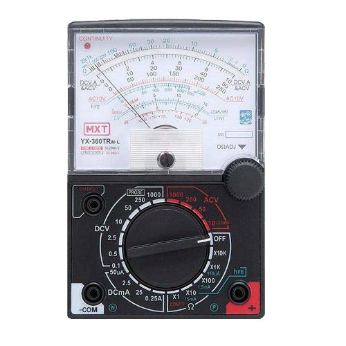 Multímetro Analógico com Led Indicador FT-360TRNL MXT