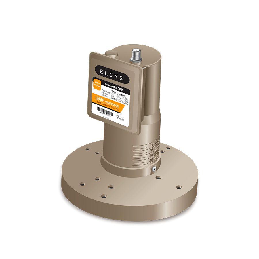 Multiponto Lnbf Para Antena Parabolica 12k Com Filtro wi-max P
