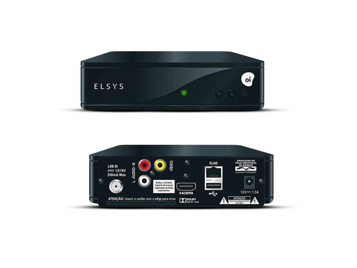 """O Kit Oi TV com antena """"Mini parabólica"""" de chapa 60 cm + LNB Quadruplo"""
