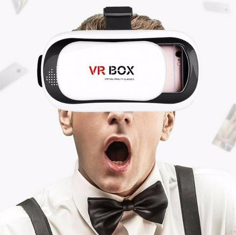 Óculos Vr Box Realidade Virtual 3d Android Ios + Controle