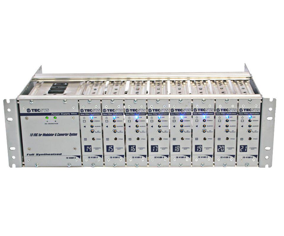 Rack Central de Modulação Semi-Ágil Não Adjacente TS 3000S