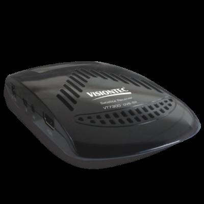 Receptor Digital de Parabólica HD e SD VT7300 Visiontec