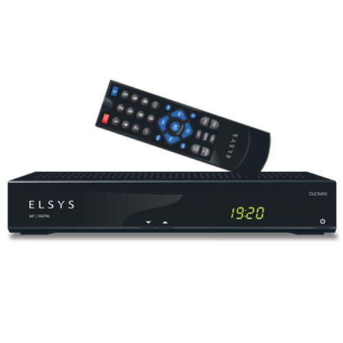 Receptor Digital E Analógico Elsys Duomax Sd + Lnbf Monoponto