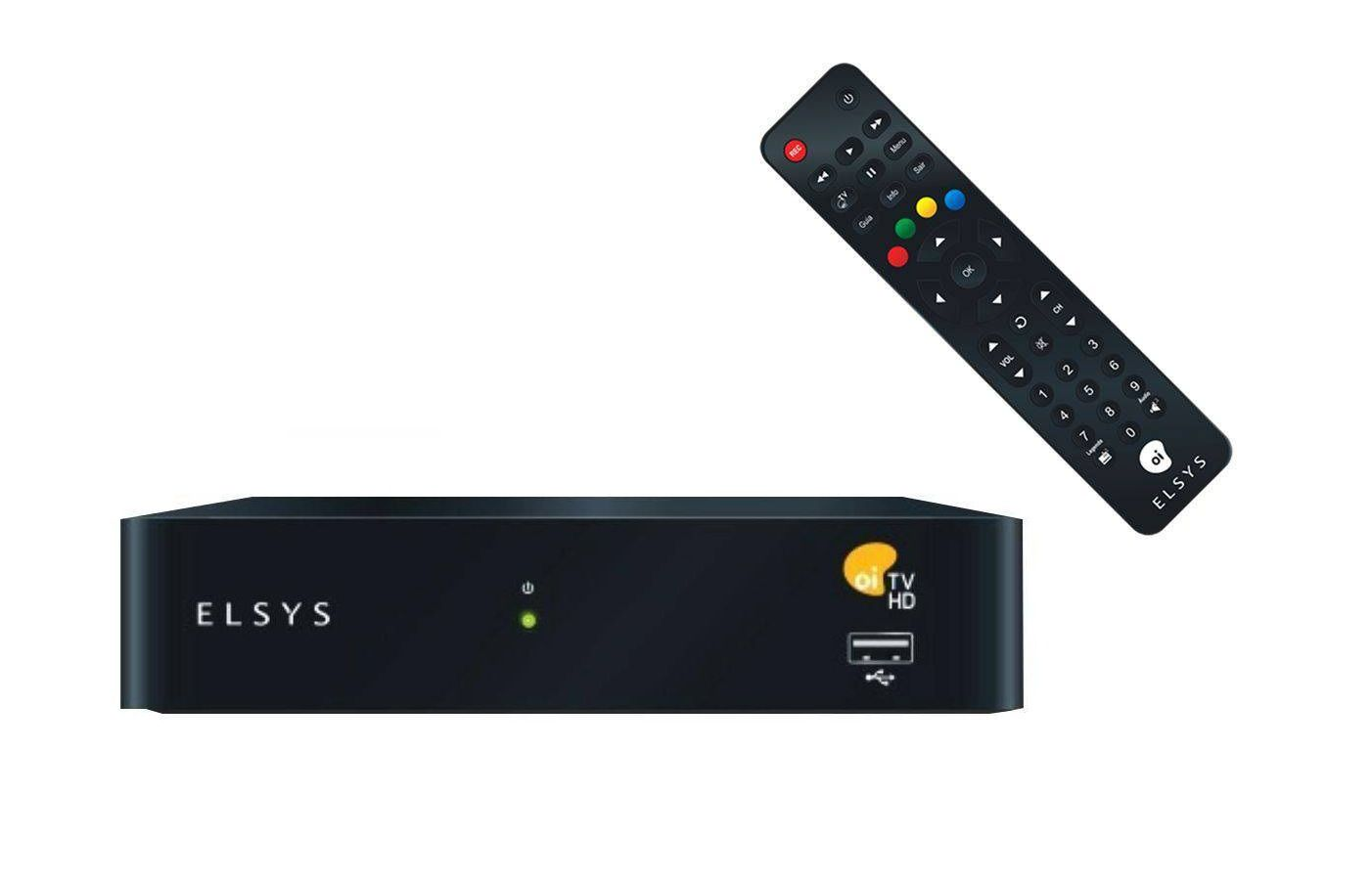 Receptor Digital Elsys Oi TV Hd Etrs44 + Super Brinde