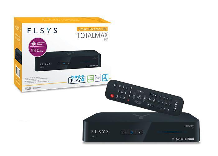 Receptor Digital Totalmax + Lnbf Multiponto Super HD 12K Com Filtro Wi-Max