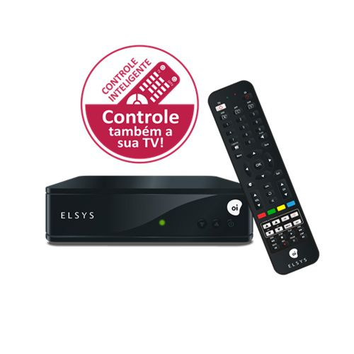 Receptor Elsys Oi Tv Livre Hd Etrs44 + Lnb Simples Universal KU