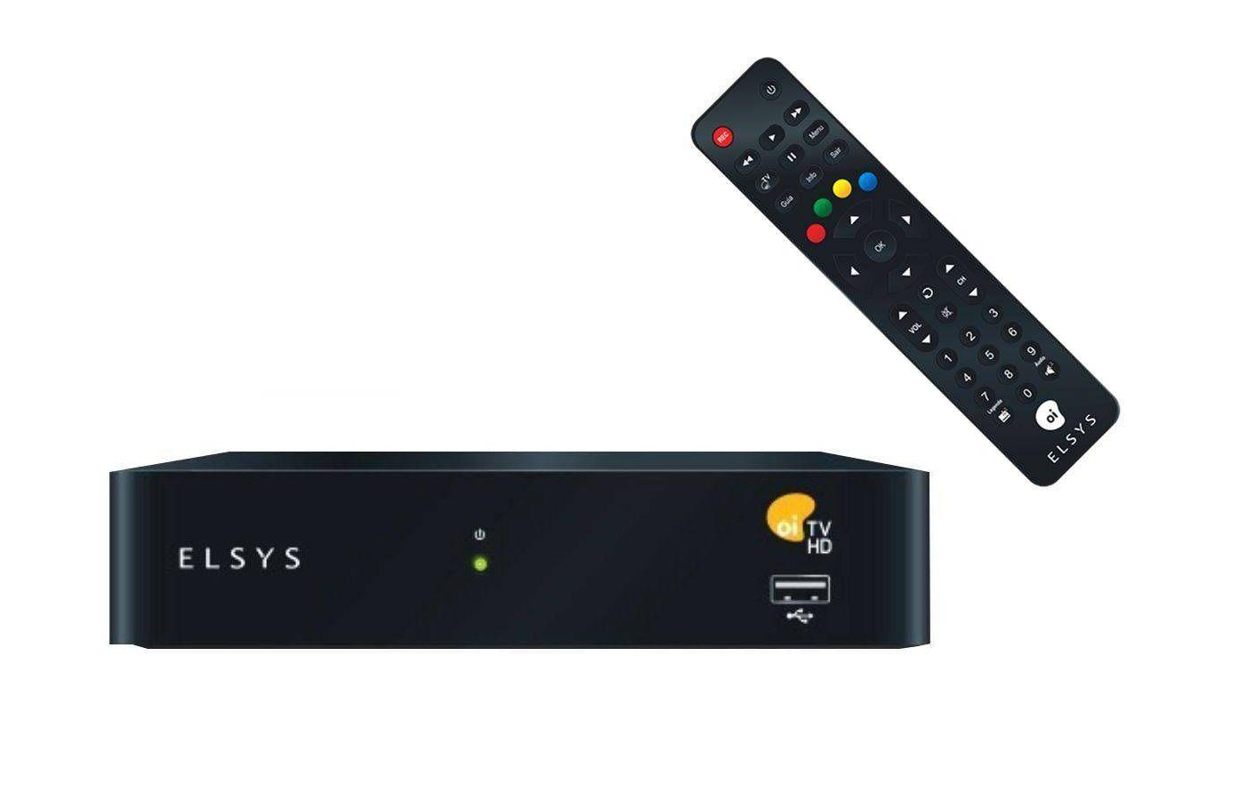Receptor Oi Tv Livre Sempre Elsys Etrs37 5 Pontos Garantia