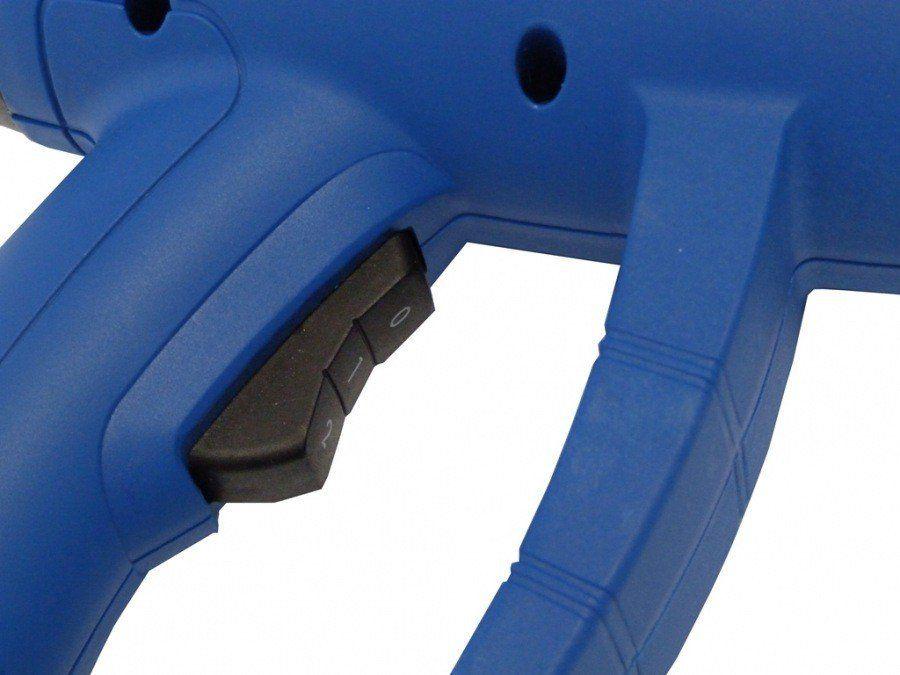Soprador Térmico de Ar Quente MXT  Ajuste De Temperatura 350° a 650° 1600w Com Maleta Para Transporte e Acessórios 127V