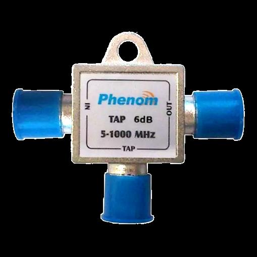 Tomada Tipo T 6dB 1ghz Phenom 5 a 1000 Mhz