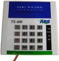 Central Alarme Com Discadora DTMF VIP8  - ABSSISTEMAS