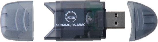 MINI LEITOR DE CARTÃO DE MEMÓRIA USB UCR-31B FTG  - ABSSISTEMAS