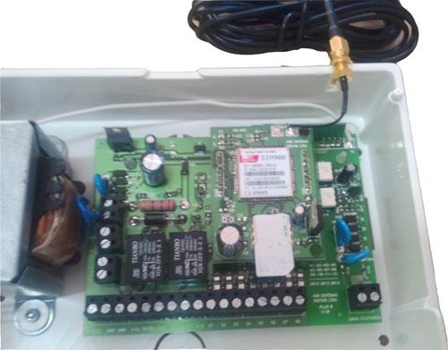 Central de Alarme com discadora GSM/SMS VIP8  - ABSSISTEMAS