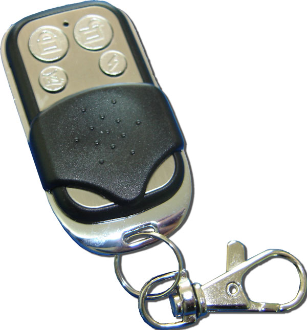Controle Remoto Code Learning Aço Escovado 433 MHZ  - ABSSISTEMAS