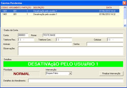RECEPTORA PARA MONITORAMENTO DE ALARMES DUAS LINHAS FIXAS + GPRS IP-MAX2  - ABSSISTEMAS