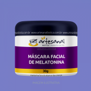 Máscara Facial de Melatonina - 30gr
