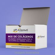 Mix De Colágenos - Colágeno Hidrolisado (Tipo 1), Uc-ii (Tipo 2) E Verisol (Tipo 3)