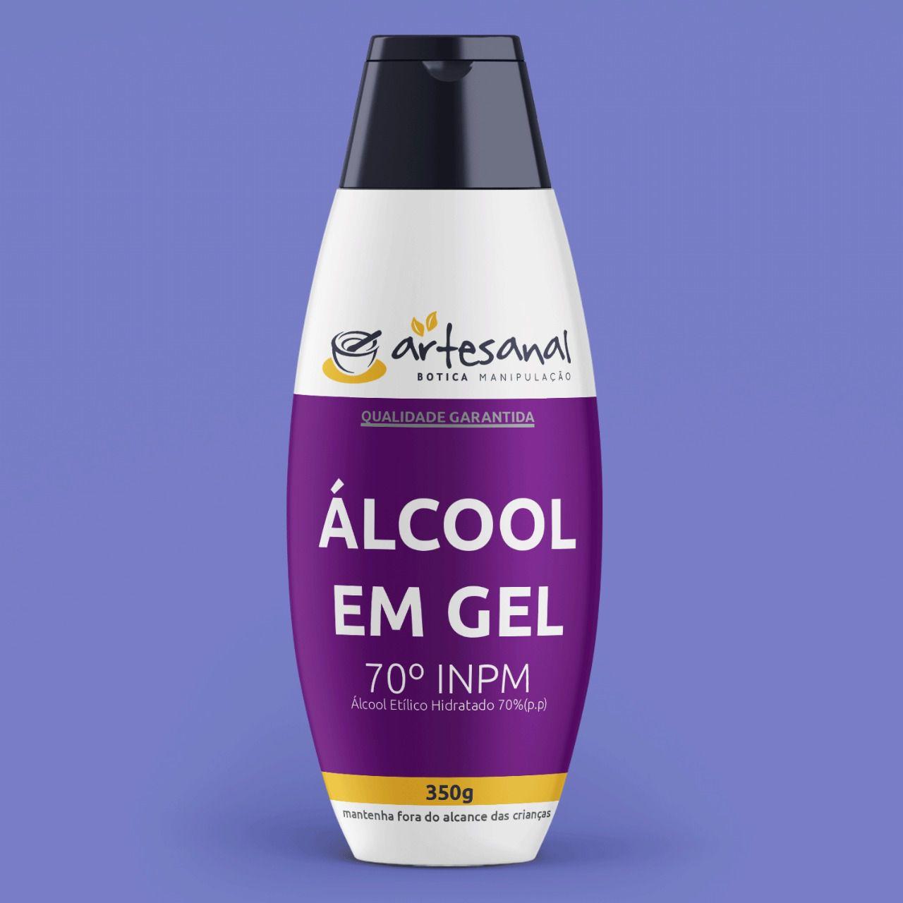 Álcool Em Gel Hidratante 70% - 350ml