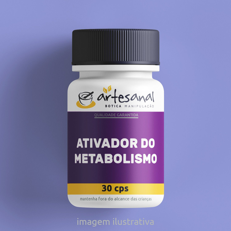 Ativador Do Metabolismo - 30 Cps