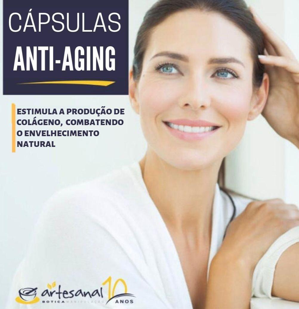 Cápsulas Anti-Aging - 30 Cps