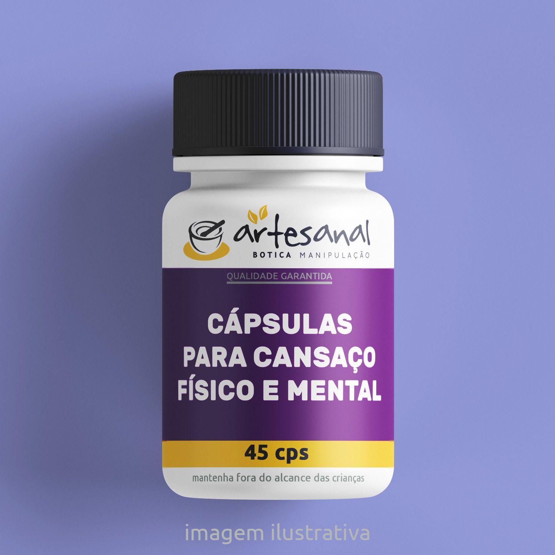 Cápsulas para Cansaço Físico e Mental - 45 Cps