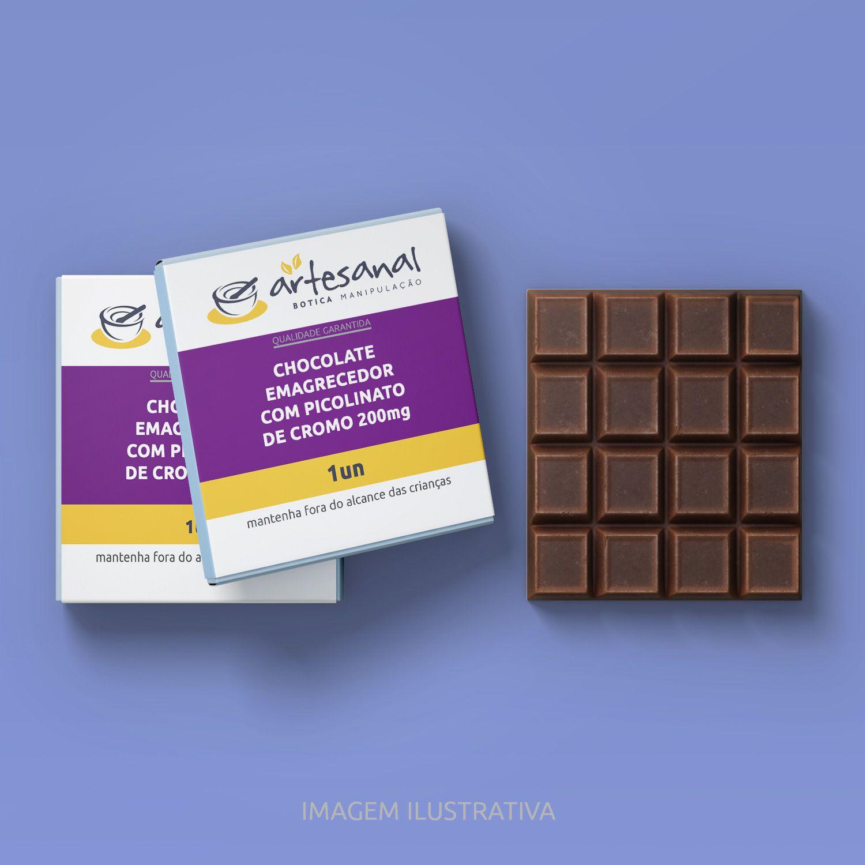 Chocolate Emagrecedor Com Picolinato De Cromo 200mg