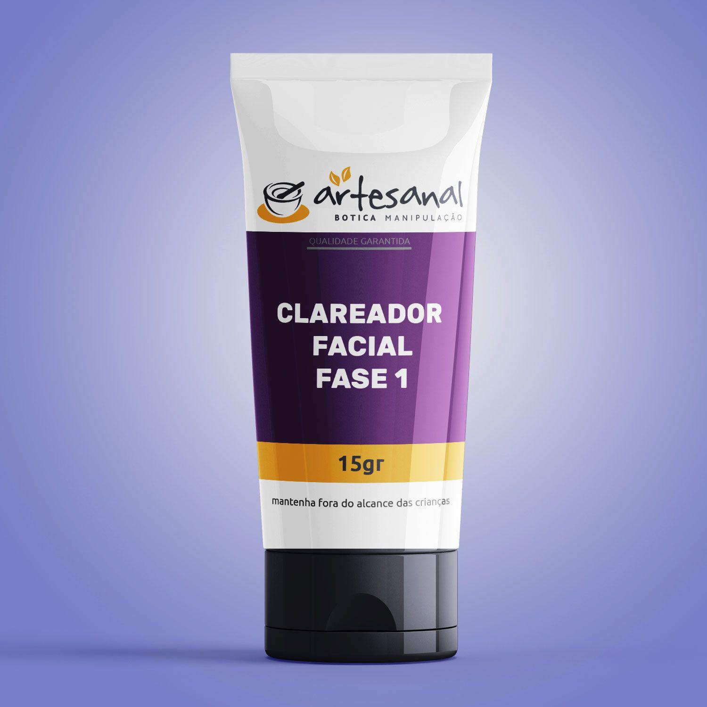 Clareador Facial Fase 1 - 15g