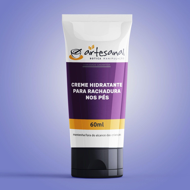 Creme Hidratante Para Rachadura Nos Pés - 60ml