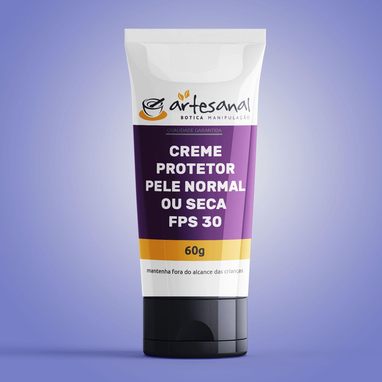 Creme Protetor - Pele Normal Ou Seca Fps 30 - 60g