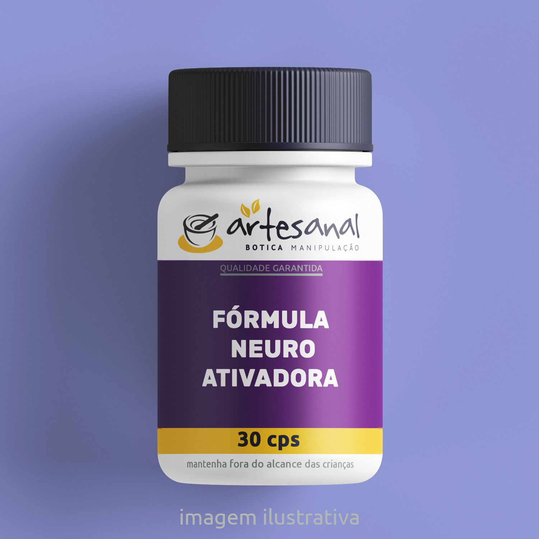 Fórmula Neuro Ativadora - 30 Cps