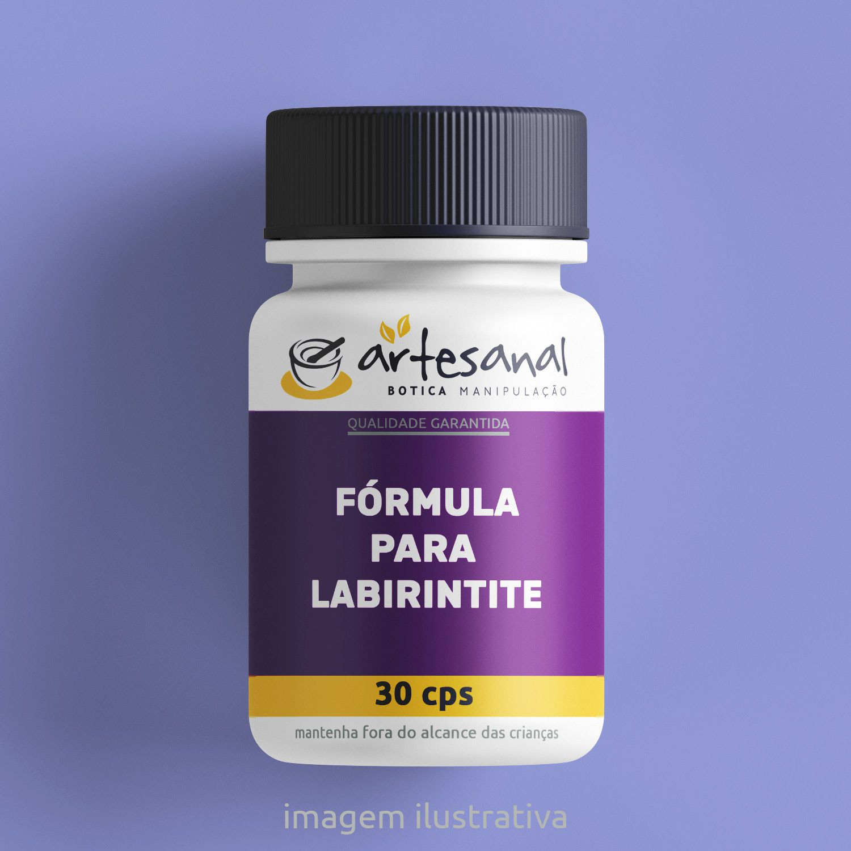 Fórmula Para Labirintite - 30 Cps