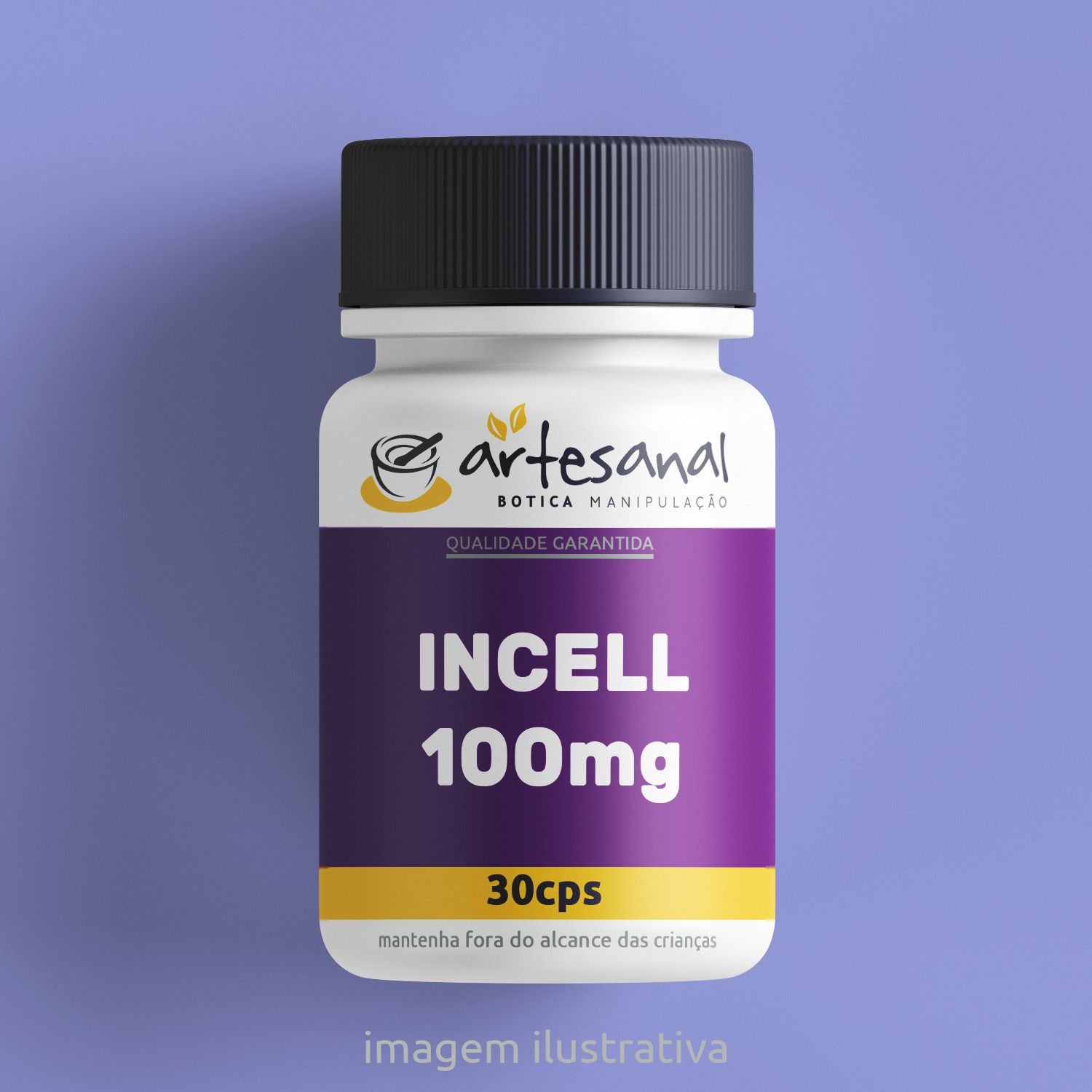 Incell 100mg - 30 Cps