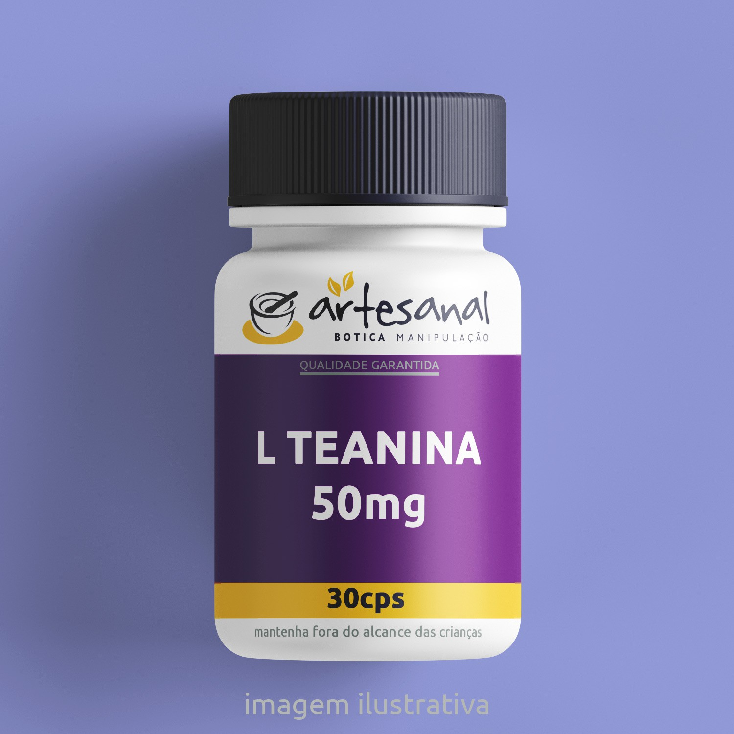 L Teanina 50mg 30cps