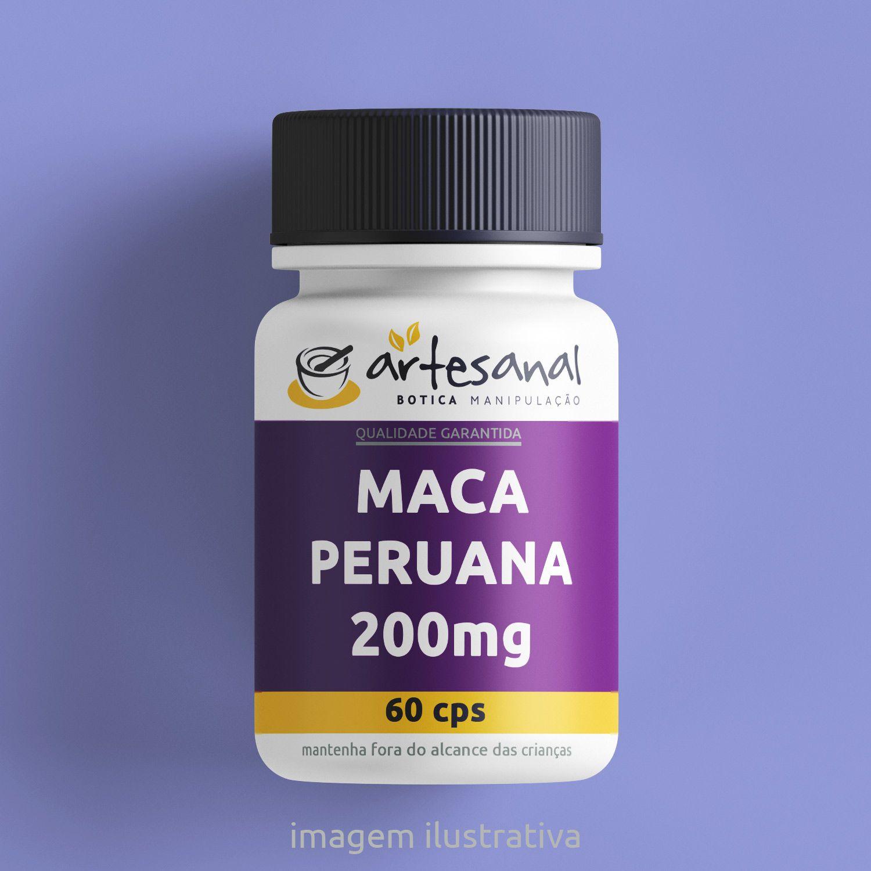 Maca Peruana 200mg 60cps
