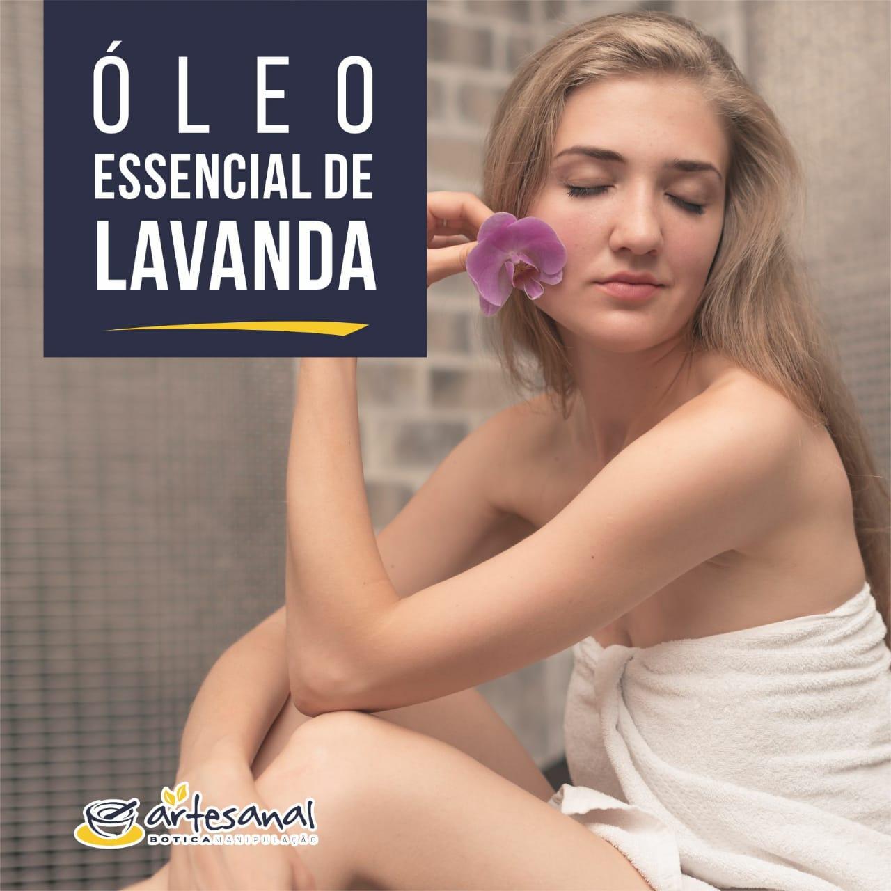 Óleo Essencial De Lavanda (Puro) - 10ml